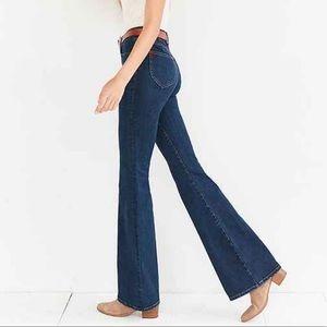 BDG • High Rise Flare Medium Wash Jeans